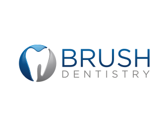 BRUSH DENTISTRY logo design
