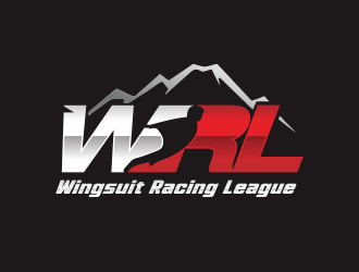 Wingsuit Racing League logo design