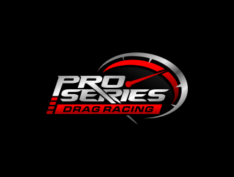 Pro Series Drag Racing logo design