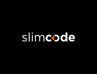 slimcode logo design