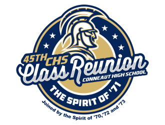 45th CHS Class Reunion + The Spirit of 71 logo winner
