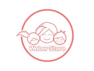 Weber Store logo design