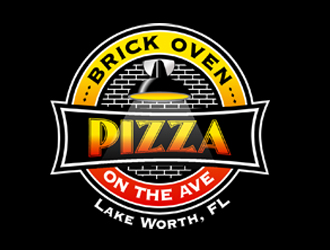 Brick Oven Pizza On The Ave logo design