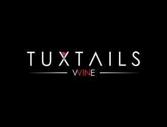 Tuxtails logo design