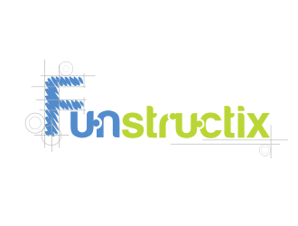 Funstructix logo design