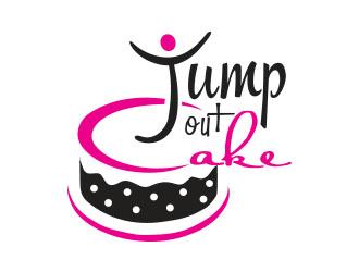 jump out cake logo design 48hourslogo com