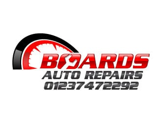 Boards Auto Repairs logo design