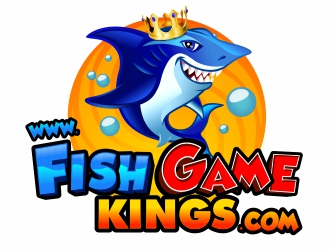 Fish Game Kings logo design