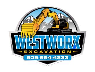 WESTWORX logo design