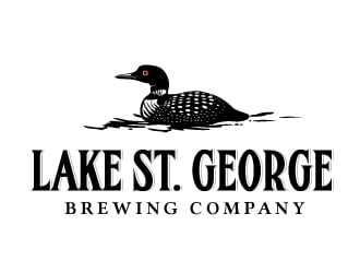 Lake St. George Brewing Company logo design