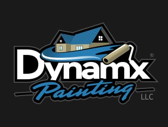 Dynamx painting logo design