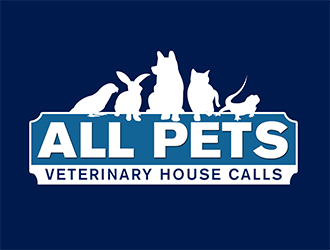 All Pets Veterinary House Calls logo design