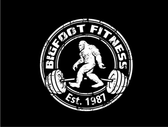 Bigfoot Fitness      Est. 1987 logo design