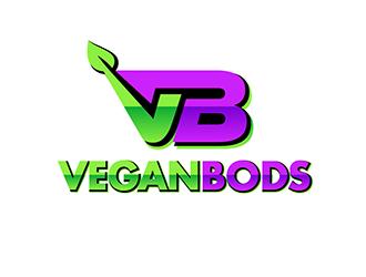 VeganBods logo design