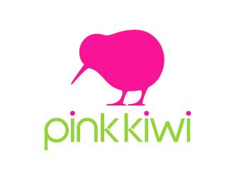 Pink Kiwi logo design