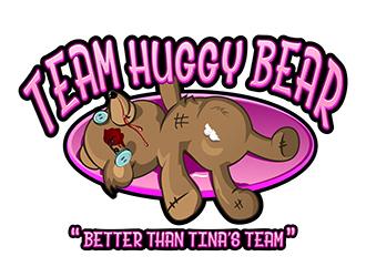 Team Huggy Bear logo design
