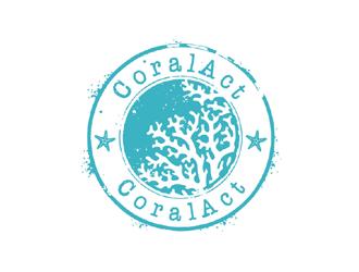 CoralAct logo design
