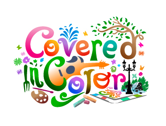 Covered in Color logo design