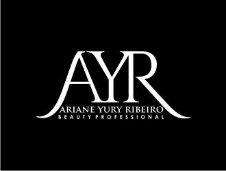 Ariane Yury Ribeiro logo design