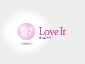 Love It Aesthetics logo design
