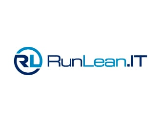RunLean.IT logo design