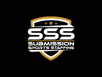 submission sports staffing logo design