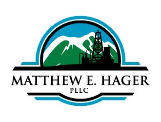Matthew E. Hager PLLC logo design