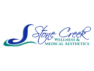 Stone Creek Wellness Center & Medical Aesthetics logo design