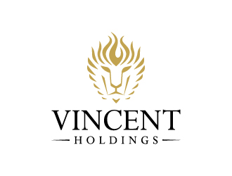 Vincent Holdings logo design