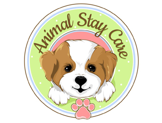 Animal Stay Care logo design