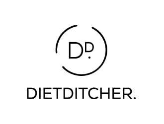 dietditcher. logo design