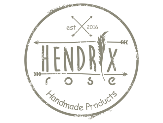 Hendrix Rose logo design