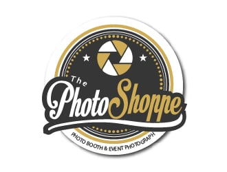 The Photo Shoppe (Photo Booth & Event Photography) logo design