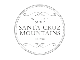 Wine Club of the Santa Cruz Mountains logo design