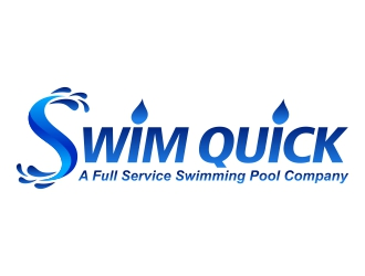 Swim Quick logo design