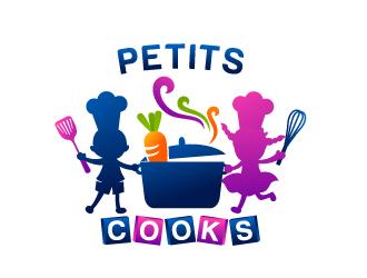 Petits Cuisiniers logo design