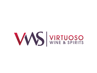 Virtuoso Wine and Spirits logo design