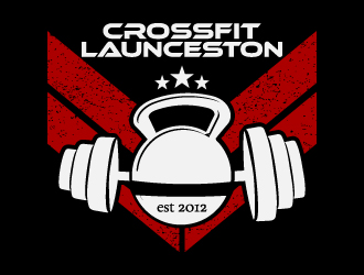 CrossFit Launceston logo design