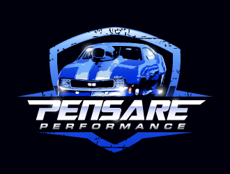 PENSARE PERFORMANCE logo design