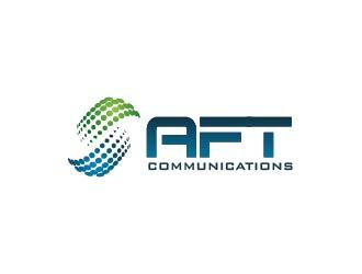 aft communications logo design 48hourslogo com