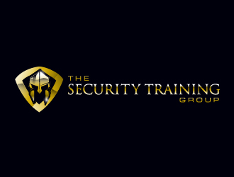 The Security Training Group logo design