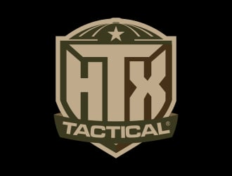 HTX Tactical logo design