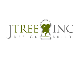 Jtree Inc Design Build logo design