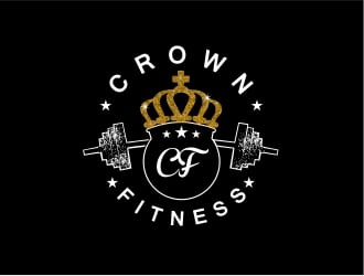 Crown Fitness logo design