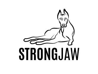 StrongJaw logo design