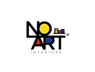 Noart, NOART, NoArt, noart logo design
