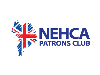 NEHCA PATRONS CLUB logo design