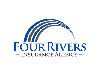 Four Rivers Insurance Agency logo design