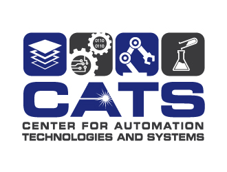 CATS (and/or Center for Automation Technologies and Systems) logo design