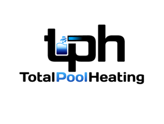 Total Pool Heating logo design